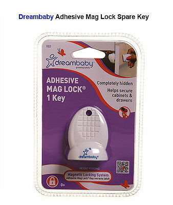 Dreambaby Child Safety Adhesive Mag Lock SPARE KEY ONLY