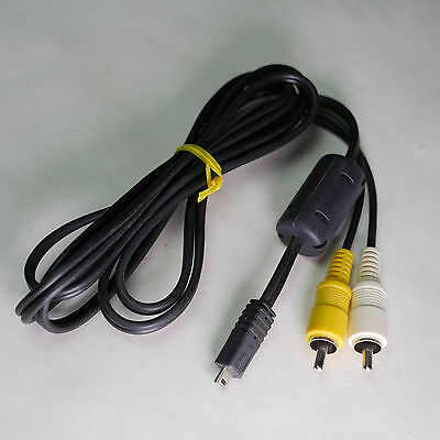 AV A/V USB TO RCA AUDIO / VIDEO MINI USB CONNECTION CABLE TV AND CAMERA 5 feet