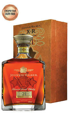 Johnnie Walker XR 21YO Scotch Whisky 750ml (Boxed)