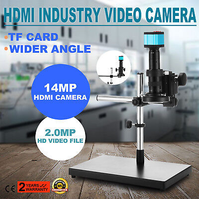 S1000-A Digital Video Microscope Camera HDMI USB LED Magnifier Industrial Get