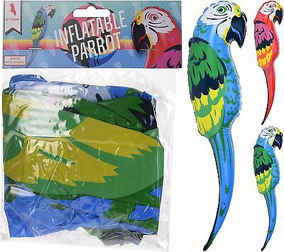 Giant Inflatable Parrot 110cm Toy Parrot Fancy Dress Pirate Tropical