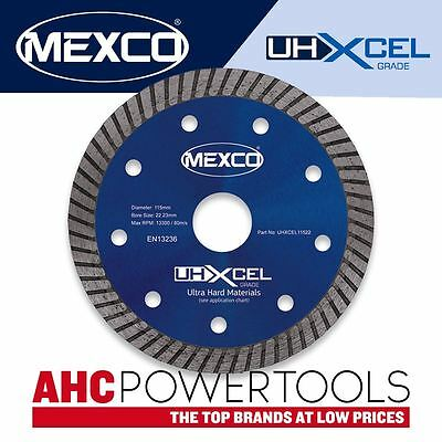 Mexco UHXCEL 115mm ( 4.5 inch ) Ultra Hard Materials Diamond Blade Disc