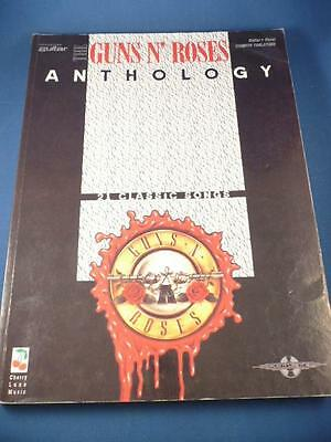 Guns N' Roses Anthology Guitar Vocal With Tablature  Book Tab 9781843280866