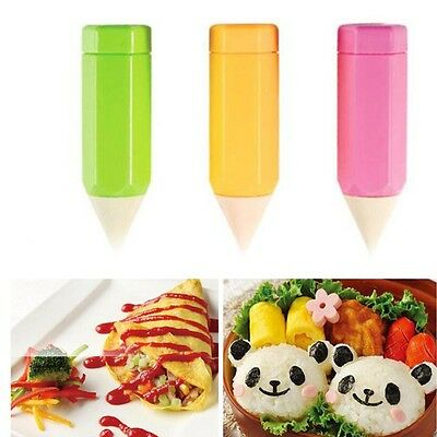 Gourmet Painting Pens 3PCS Set DIY Baking Cookies Biscuit DIY Cake Bread Make