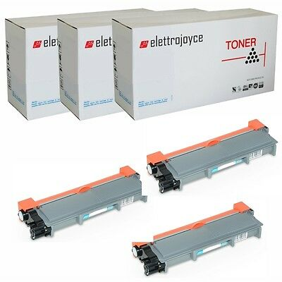 3 Toner Per Brother Hl2130 Hl2135 Dcp7055 Dcp7057 Mfc7460Dn - Tn2220