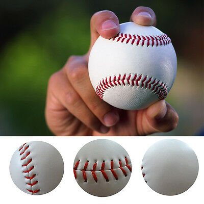 10X Baseball Leather Team Game 9'' Trainning Base Ball Softball Teenage Sport-AU
