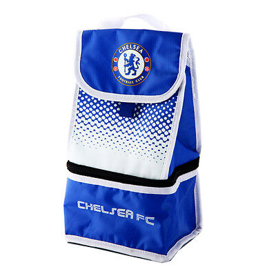 Chelsea Lunch Bag 2 Compartment Gift Fade New Official Licensed Football Product
