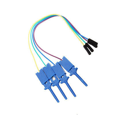 1PCS Test Clamp Wire Hook Test Clip for Logic Analyzer Electronic Components UK