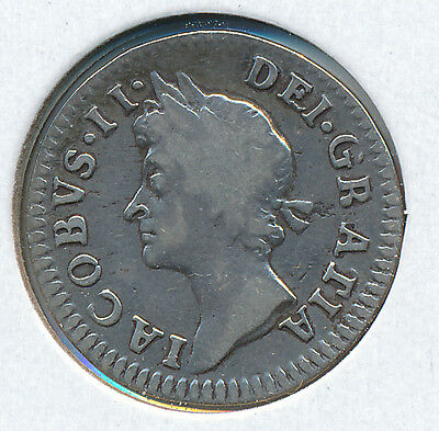 Great Britain Fourpence 1687