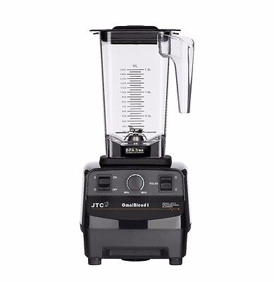 JTC OmniBlend I Original Series Commercial Blender + 1.5L BPA-Free Jug in Black