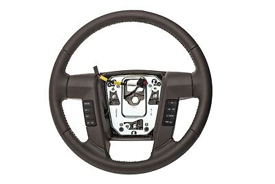 2009-2010 Ford F-150 Steering Wheel Dusk Grey Leather OEM NEW  9L3Z-3600-BD