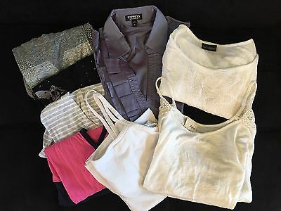 Lot of 8 Women's Junior's Tops Shirts Size Small EXPRESS & Daytrip