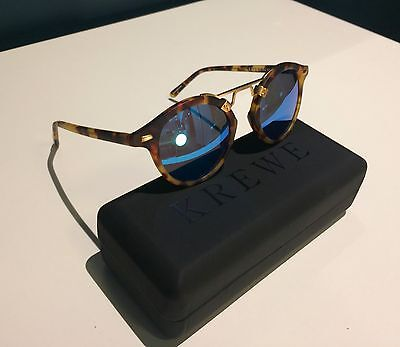 LOT of 25 Mirrored Tortoise Style Round Sunglasses Gold New Fred Segal Krewe