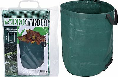 270L Giant Garden Waste Bag Strong Rubbish Sack Waterproof Heavy Duty Reusable