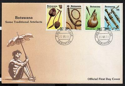 Botswana 1983 Traditional Artifacts FDC