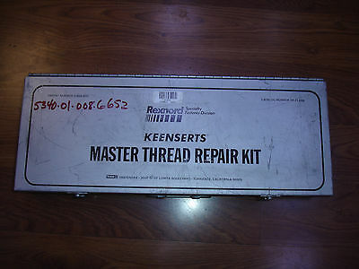 COMPLETE Rexnord Keensert Master Thread Repair Kit TR21000 TR21,000 Thick Wall