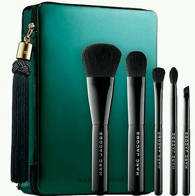 Marc Jacobs Your Place Or Mine 5 Pc Travel Brush Collection -Bnib- Rrp £95