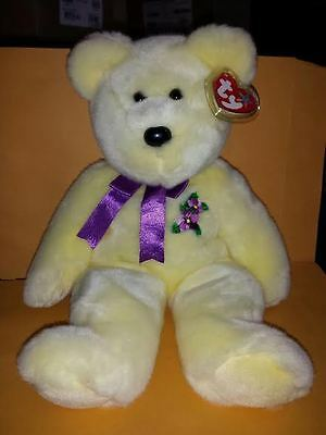 Ty Beanie Buddies Mother Bear 14 Inch Plush Stuffed Animal 2003