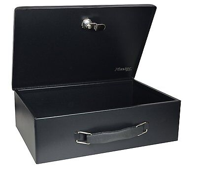 Home Security Chest Safe Fireproof Box Lock Storage Fire Resistant Waterproof