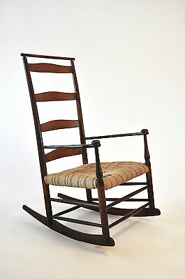 Antique 19th Century Shaker 'Production' Rocking Chair #6