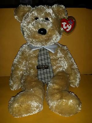 TY BEANIE BUDDIES DAD-e BEAR 14 INCH PLUSH STUFFED ANIMAL 2003