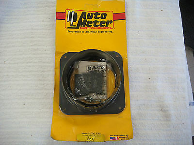 Auto Meter 5230 Rubber Insulated In-Dash Tachometer Mounting Adapter Pro-Comp