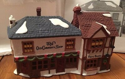 Heritage Village Collection Dickens Series OLD CURIOSITY SHOP Christmas #5905-6