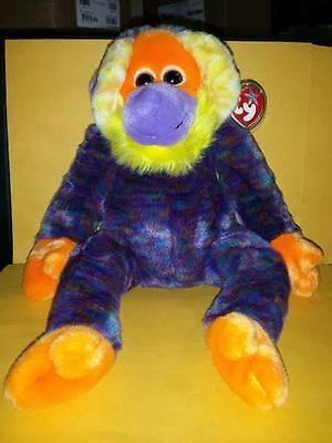 Ty Beanie Buddies Bananas Monkey 2001