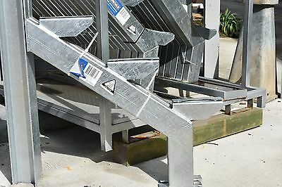 HARDAZ - Metal Stair Stringers - 3 Step (pair) - $170