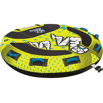 Jobe Storm Towable Water Ski Tube Inflatable Biscuit Boat Ride