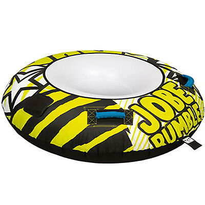 Jobe Rumble 1 Towable Water Ski Tube Inflatable Biscuit Boat Ride