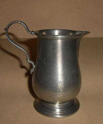Vintage Towle Pewter Creamer Ca 1960-70's