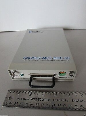 National Instruments DAQPad-MIO-16XE-50 Parallel Port Control