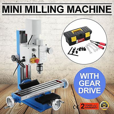 MINI DRILLING & MILLING MACHINE 550W MOTOR WITH VARIABLE SPEED DRIVE Top
