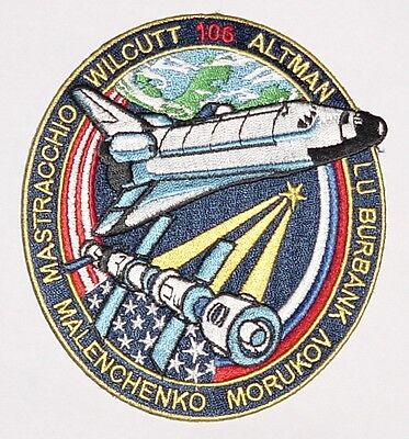 Aufnäher Patch Raumfahrt NASA STS-106 Space Shuttle Atlantis ...........A3106
