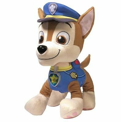 New Deluxe Lights and Sounds Plush Real Talking Chase Paw Patrol Stuffed Toy