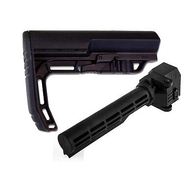 Worker Mod Folding Stock Adapter Attachment with Mini Stock for Nerf Modify Toy