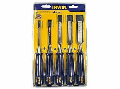 Irwin Marples TM444S5 Blue Chip Bevel Edge Chisel - Set of 5