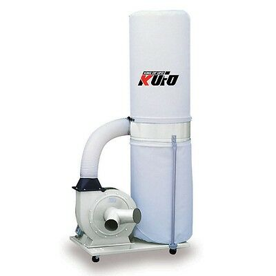 Kufo Seco UFO-101H 2 HP 1550 CFM 1 phase- 110V Vertical Bag Dust Collector NEW