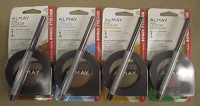 Almay IColor Everyday Neutrals Eyeshadow With Eyeliner Pencil CHOOSE YOUR SHADE