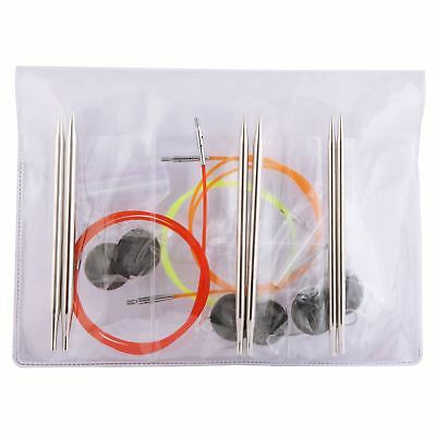 KnitPro Nova Metal Starter Interchangeable Circular Knitting Needle Set
