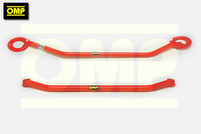 OMP UPPER/LOWER STRUT BRACE PEUGEOT 106 1.4 XSi 2-BOLT
