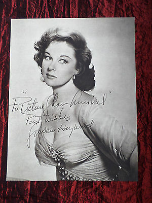 """Susan Hayward - Film Star - 1 Page Picture -"""" Clipping / Cutting"""" - #2"""