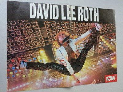 David Lee Roth  /  Judas Priest    Picture / Poster  LMJ 95