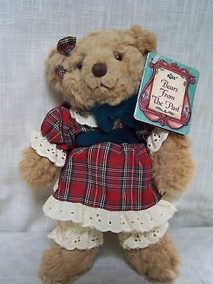 """RUSS Bears From The Past BEVERLY with Tags 10"""""""