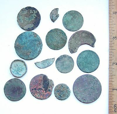 Group Of Different Russian Empire Cooper Coins