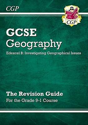 New Grade 9-1 GCSE Geography Edexcel B: Investig by CGP Books New Paperback Book