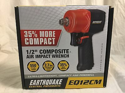 "Earthquake Central Pneumatic 1/2"" Composite Air Impact Wrench (EQ12CM)"