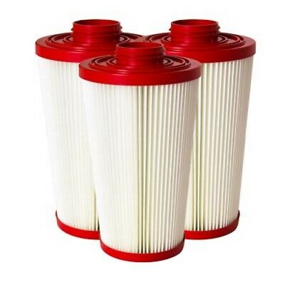 Pulse-Bac HEPA Heavy Duty Filters Set of 3 Fits 1000 Series Models 1050 1250