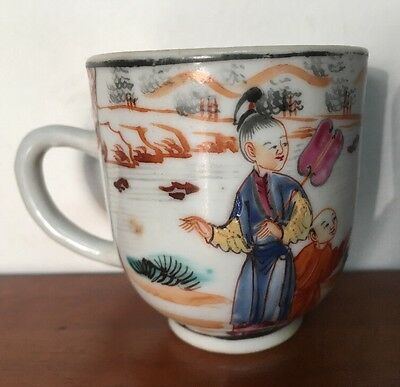 Antique 19th Century Chinese Export Tea Cup for the American Market